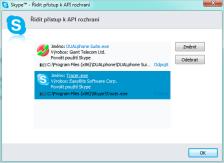 Skype API přístup