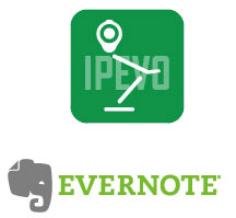 Ipevo Presenter a propojení na Evernote